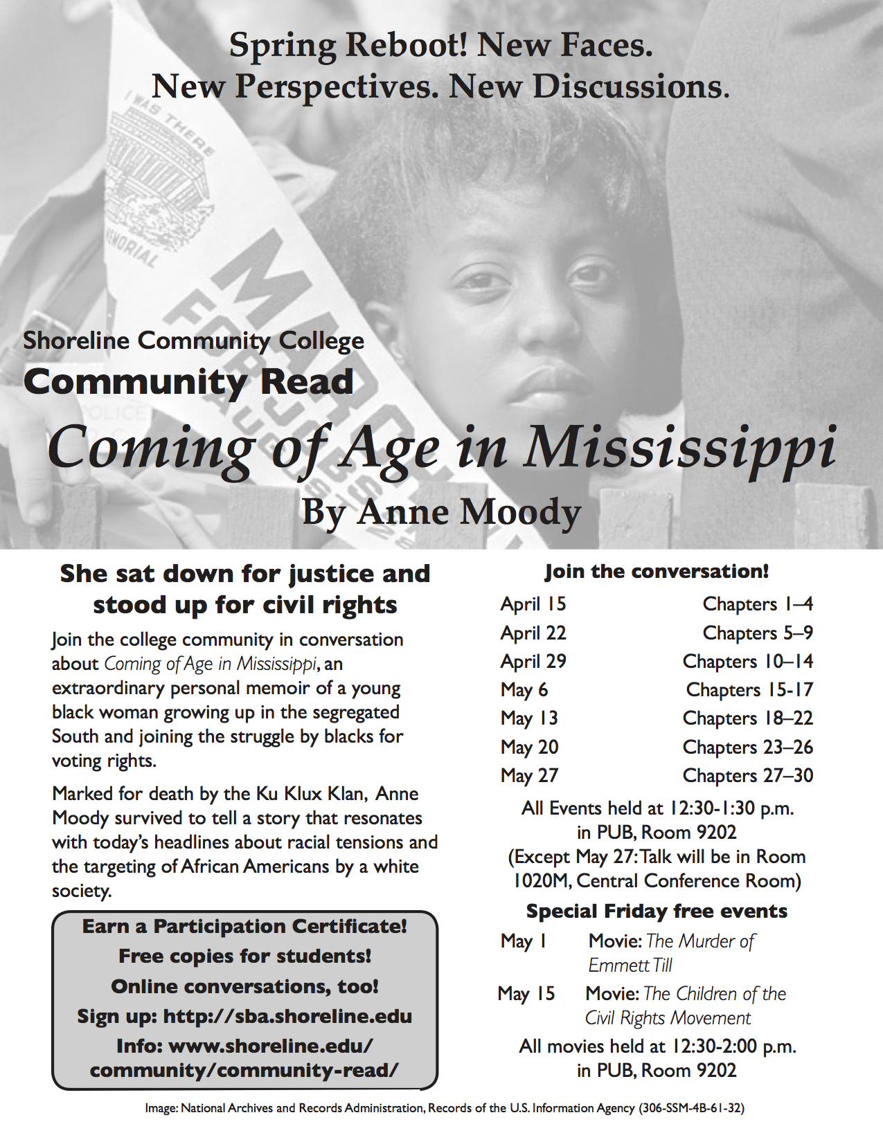 coming of age in mississippi by anne moody Anne moody's coming of age in mississippi chapter summary find summaries  for every chapter, including a coming of age in mississippi chapter summary.